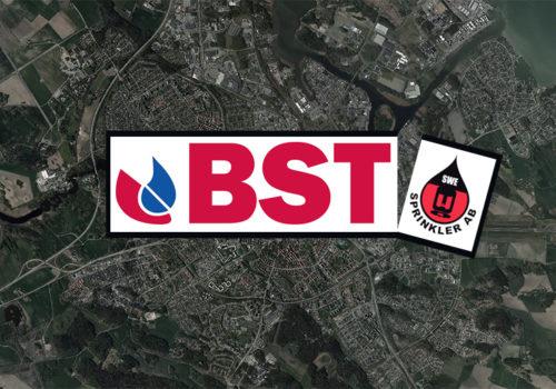 BST förvärvar 100% av Swe Sprinkler AB