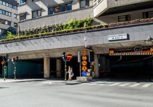 BST på plats när Klaratunneln rustas upp