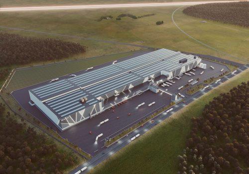 Vi satsar på lager och logistik- och arbetar för stor livsmedelskoncern i nytt jätteprojekt